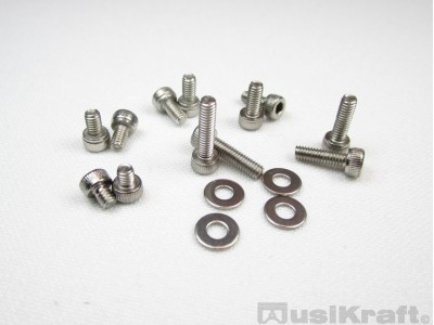 Varied Mounting Kit M2.5 Stainless Steel 304 (screws and flat washers)