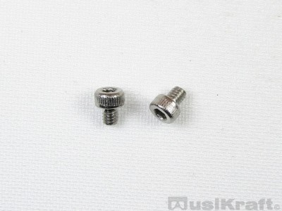 M2.5 x 3mm Stainless Steel 304, Allen hex cap screws (pair)
