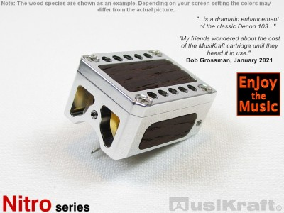 Audio MusiKraft Polished Lithium Nitro 2 Cartridge