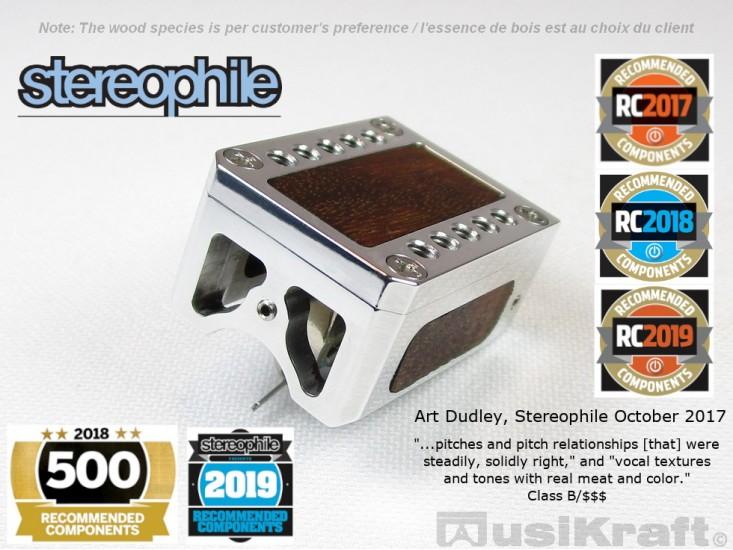 Audio MusiKraft DL-103 Polished Lithium Cartridge