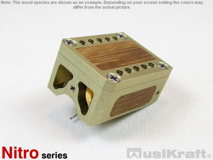 Audio MusiKraft Champagne Anodized Aluminum Nitro 2 Cartridge