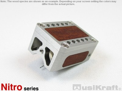 Audio MusiKraft Clear Anodized Aluminum Nitro 1 Cartridge