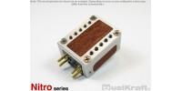 Audio MusiKraft Clear Anodized Aluminum Nitro 2 Cartridge