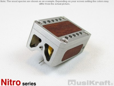 Audio MusiKraft Clear Anodized Aluminum Nitro 2 Cartridge