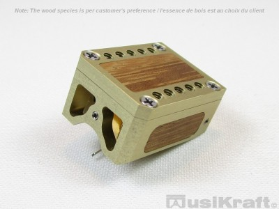 Audio MusiKraft DL-103R Champagne Anodized Aluminum Cartridge