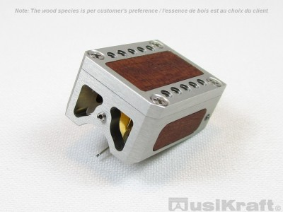 Audio MusiKraft DL-103R Clear Anodized Aluminum Cartridge