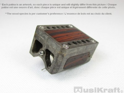Audio MusiKraft DL-103 Silver Nitrate on Black Patinated Bronze Cartridge