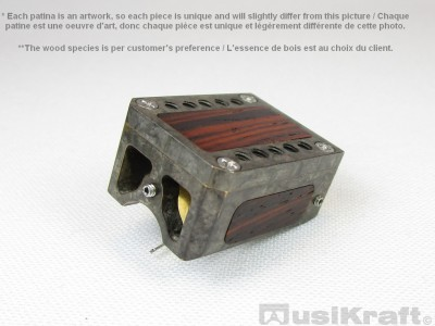 Audio MusiKraft DL-103R Silver Nitrate on Black Patinated Bronze Cartridge