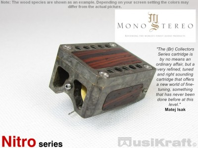 Audio MusiKraft Silver Nitrate on Black Patinated Bronze Nitro 2 Cartridge
