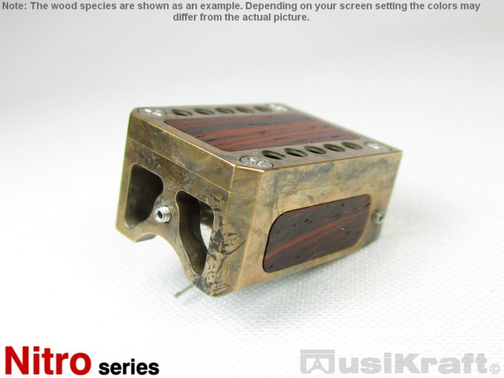 Audio MusiKraft Silver Nitrate Patinated Bronze Nitro 1 Cartridge