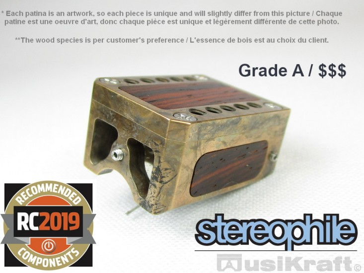 Audio MusiKraft DL-103 Silver Nitrate Patinated Bronze Cartridge