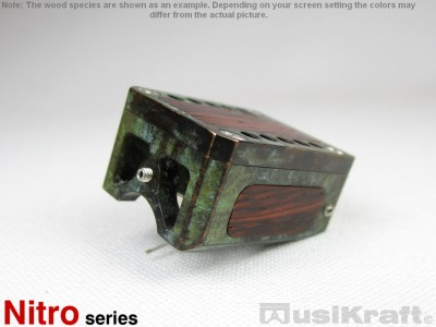 Audio MusiKraft Copper and Iron Nitrate Patinated Bronze Nitro 1 Cartridge