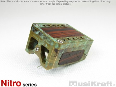 Audio MusiKraft Copper Nitrate Patinated Bronze Nitro 1 Cartridge