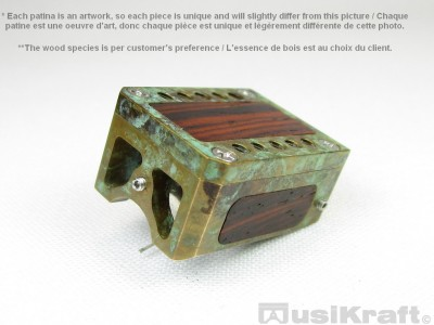 Audio MusiKraft DL-103 Copper Nitrate Patinated Bronze Cartridge