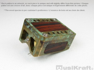 Audio MusiKraft DL-103R Copper Nitrate Patinated Bronze Cartridge