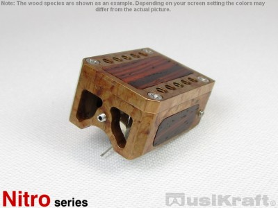 Audio MusiKraft Iron Nitrate Patinated Bronze Nitro 1 Cartridge