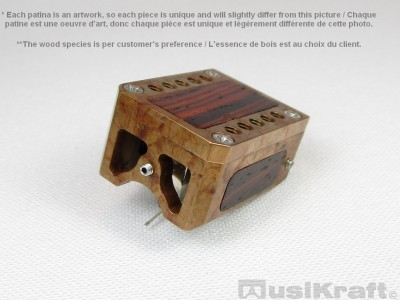 Audio MusiKraft DL-103 Iron Nitrate Patinated Bronze Cartridge