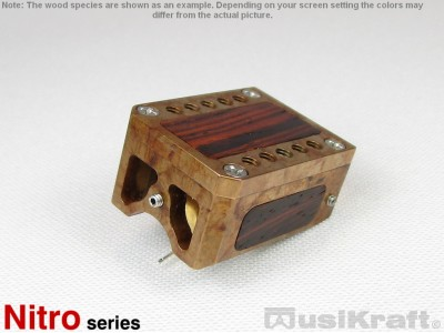 Audio MusiKraft Iron Nitrate Patinated Bronze Nitro 2 Cartridge