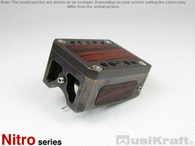 Audio MusiKraft Black Acid Patinated Bronze Nitro 1 Cartridge