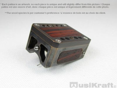 Audio MusiKraft DL-103 Black Acid Patinated Bronze Cartridge