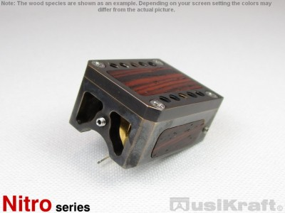 Audio MusiKraft Black Acid Patinated Bronze Nitro 2 Cartridge