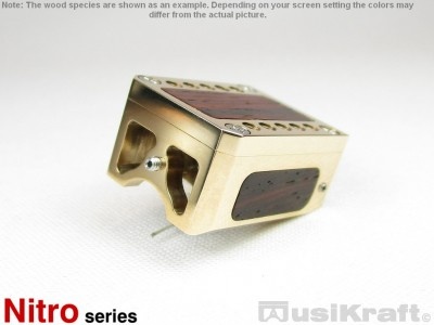 Audio MusiKraft Gold Plated Bronze Nitro 1 Cartridge