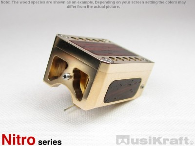 Audio MusiKraft Gold Plated Bronze Nitro 2 Cartridge