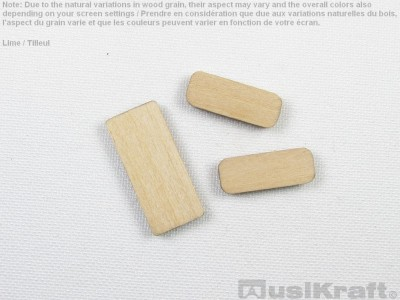 Lime wood inserts (set)